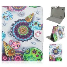 Free Shipping 100pcs/lot Fashion Multi-color Painted Universal 9inch Skin Case Cover Tablet 9 inch Case