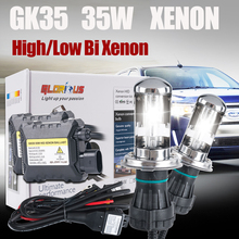 2016 Limited New Product DC 35w HID KIT 9004 Hi Lo Bi Xenon Bulb  9004 9007 6000k  for Hid Conversion Kits