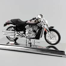 1:18 scale maisto kids mini collectible 2006 VRSCR Street Rod Harley Davidson Motor diecast motorcycle race car toy for children