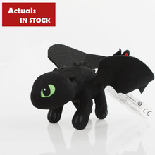 How to Train Your Dragon 2 20CM Night Fury Plush Toy Toothless Dragon Stuffed Animal Dolls