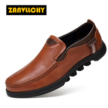 ZANVLLCHY Very comfortable walking shoes for men high quality Genuine leather sport shoes mens Comfortable running sneakers