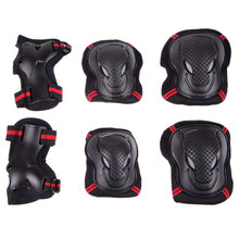 3pair Protective Knee Brace Elbow Wrist Pads Guard Tactical Paintball Kneepad Skateboarding Protector Poller Skates for Children(China)