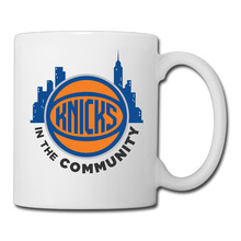 New York Basketball Logo coffee mug beautiful teacher tazas ceramic tumbler caneca tea Cups
