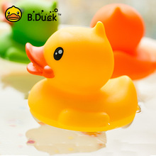 B.Duck 1pc Baby Bath Toys PVC Duck Shower Water Floating Mini Bathroom Toys Party Supplies Birthday Gifts