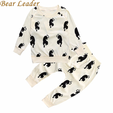 Buy Bear Leader Hot Baby Clothes Sets Cartoon Pattern Infant Boys Clothing SuIts Fashion Autumn Hoodies+Long Pants Kid Newborn Sets for $8.99 in AliExpress store
