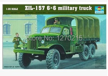 Trumpeter 01001 1/35 ZIL-157 6X6 Military Truck plastic model kit
