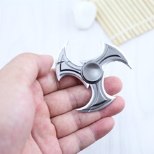 Game Shadow Master Zed Finger Spinner High quality Zinc Alloy Rotatable Darts Model Kids toys Christmas Gift