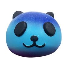 Starry Cute Panda Baby Cream Scented Squishy Slow Rising Squeeze Antistress Interesting Toys Fun Funny Gadgets Anti Stress Toys