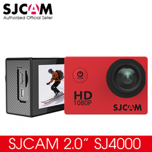"Original SJCAM SJ4000 Basic Action Camera Waterproof 1080P Helmet Camera HD 2.0"" Sports Camera Car DVR(China)"