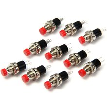 Hot 10Pcs DC 50V 0.3A Practical 2Pin Micro Normally Close NC Push Button Switch On Off Mini Switch  for DIY