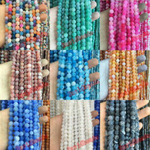Free Shipping Mysterious Nature Stone Frost Cracked Dream Fire Dragon Veins Agat Beads 4 6 8 10mm fashion jewelry beads FA10(China)
