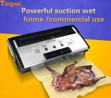 Fresh world vacuum packing machine commercial wet and dry seal machine full automatic vacuum machine Vacuum Food Sealers