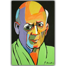 Pablo Picasso Abstract Paintings Image For Home Decoration Silk Canvas Fabric Print Poster Wallpaper CX198