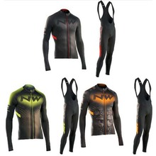 NW Men's long Sleeve Cycling Jersey team sets specialized bicycle cheap cycle clothing Maillot Racing Bike Clothes jersey