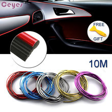 10M Auto Car-Styling DIY Car Decoration Sticker Case For Alfa Audi Mazda Nissan Saab Toyota Volve Lexus Car Styling  Accessories