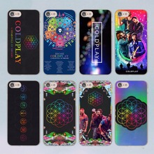 Coldplay A Head Full of Dreams design transparent clear hard case cover for Apple iPhone 7 7Plus 6S 6 Plus 5 5s SE 5C