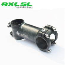 RXL SL Carbon Stem Bicycle Aluminum Carbon Stem Road MTB Mountain Bike Stem Bike Parts 31.8*70-120mm 3K Matte