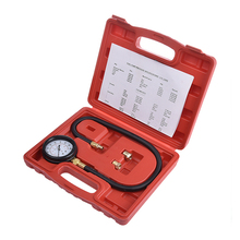 TU-12 Engine Oil Pressure Tester Pressure Gauge Test Tool Kit Auto Car Pressure Tester Auto Diagnostic Tool Psi/ Bar(China)
