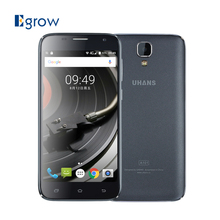 Original UHANS A101 5.0 Inch Android 6.0 MTK Quad Core 1.3GHz Smartphone Dual SIM Unlock Cell Phones 2450mAh Mobile Phone
