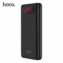 Buy HOCO B20A Universal 20000mAh Dual USB Power Bank 18650 Battery Portable Charger External Battery Bank Phones for $23.00 in AliExpress store