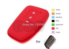 Silicone Skin Cover Shell fit for Lexus ES250 IS250 GS350 450h Smart Key Case Fob Red Car Styling Covers