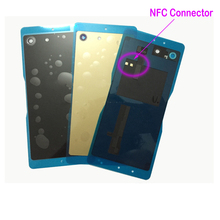 Buy New Housing Sony Xperia M5 E5603 E5633 Back Battery Cover Glass Rear Door Case NFC Connector +Sticker for $4.95 in AliExpress store