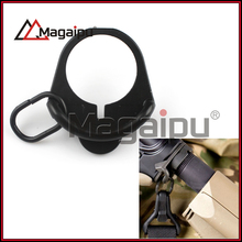 Wholesale - MAG500 Buttstock End Plate Double Loop Hook Sling stock  accessories Adapter Mount for AR15 M4 M16 AK