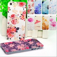 5/5S/SE Free Shipping Pattern Painted Lovely Cute Phone Hard Back Skin Cases For iPhone 5 5S SE Case For iphone5S Cover Shell(China)