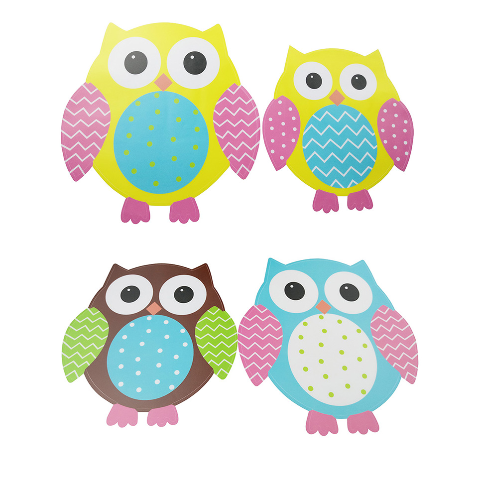 Owl Wall Stickers For Kids Rooms A16 (5)