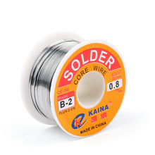 Areyourshop Sale High Quality 0.8mm 100g 63/37 Tin lead Rosin Core Solder Wire Soldering Welding Flux 2% Reel Welding Promotion(China)