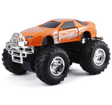 New 2016 1:32 big wheel off-road alloy car beach car models monster truck toys for children Have a shock Toys(China)