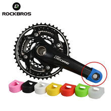 ROCKBROS Crankset Crank Protective Sleeve Protector Mountain Bike Road Bike Fixed Gear Bicycle Crank Protective Cover 8 Colors(China)