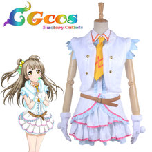 Free Shipping Cosplay Costume Love Live! Snow Halation  Minami Kotori Game Cos Dress Anime Uniform Halloween Christmas