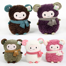 candice guo!newest arrival super cute aforable toot sheep plush toy dudu sheep doll good for gift five colors to choose 1pc