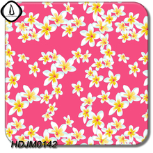 DIY Hot Sales HDJM0142 0.5M Width 2M Length Pink Florets Pattern Hydrographic Dipping Water Transfer Aqua Printing Film(China)