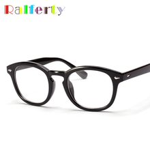 Ralferty Vintage Johnny Depp Optical Glasses Frame Retro Brand Oliver Peoples Eyeglasses Men Women Eyewear Frames oculos de grau