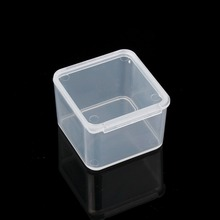 5pcs Plastic Packaging Jewelry Kit Tool Box Organizer Storage Beads Pins Jump Rings Jewelry Finding Boxes  Display Case