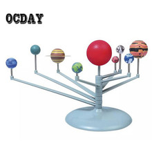 Children Toys New Solar System Planetarium Model Kit Astronomy Science Project DIY Kids Birthday Xmas Gift Toys worldwide sale(China)