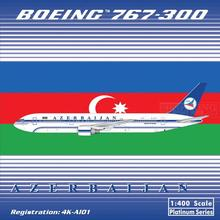 Phoenix 10581 Azerbaijan Airlines 4K-A101 1:400 B767-300 commercial jetliners plane model hobby(China)