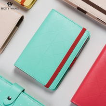 Originality Hand Accounting Alliance Initial Creative Macarons A5 Loose Leaf Notebook Diary Book Soft Cover Office Stationery
