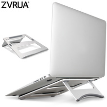 ZVRUA Universal Aluminum Alloy Tablet Holder For Macbook Pro Laptop Stand Holder Accessories For iPad Pro 12.9 Metal Support(China)