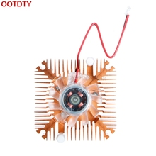 fan 2-Pin 55mm PC GPU VGA Video Card Heatsink Replacement Cooling Fan 12V 0.10A #H029#