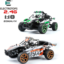 ET RC Car 1/18 Hobby 2.4G 4CH 4WD Rock Crawlers 4x4 dirt bike Double Motors Drive Buggy Model Off-Road Vehicle RC Toys GS03B(China)