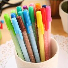 New Design Shoes Korea Stationery Unisex Pen Multicolour Water-based Gel-in For Children Office Products Supplier 12pcs/lotarc33
