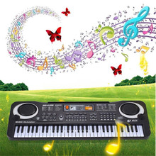 snowshine3 #5003 New 61 Keys Digital Music Electronic Keyboard Key Board Gift Electric Piano Gift Table game(China)
