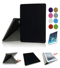 Free shipping Smart Case Cover For iPad Air 1 or for ipadAir2 Retina , Ultra Slim Designer Tablet PU Leather Cover