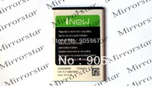 New original Battery for I NEW i6000(Changjiang N9700 )MTK6589 Smart Cell phone Batterie Batterij Bateria