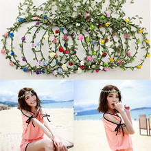 2016 New Flower Leavs Wedding Crown Hair Accessories tiara Pavlin For Women Bridal Hair bands Bijoux accesorio para el pelo
