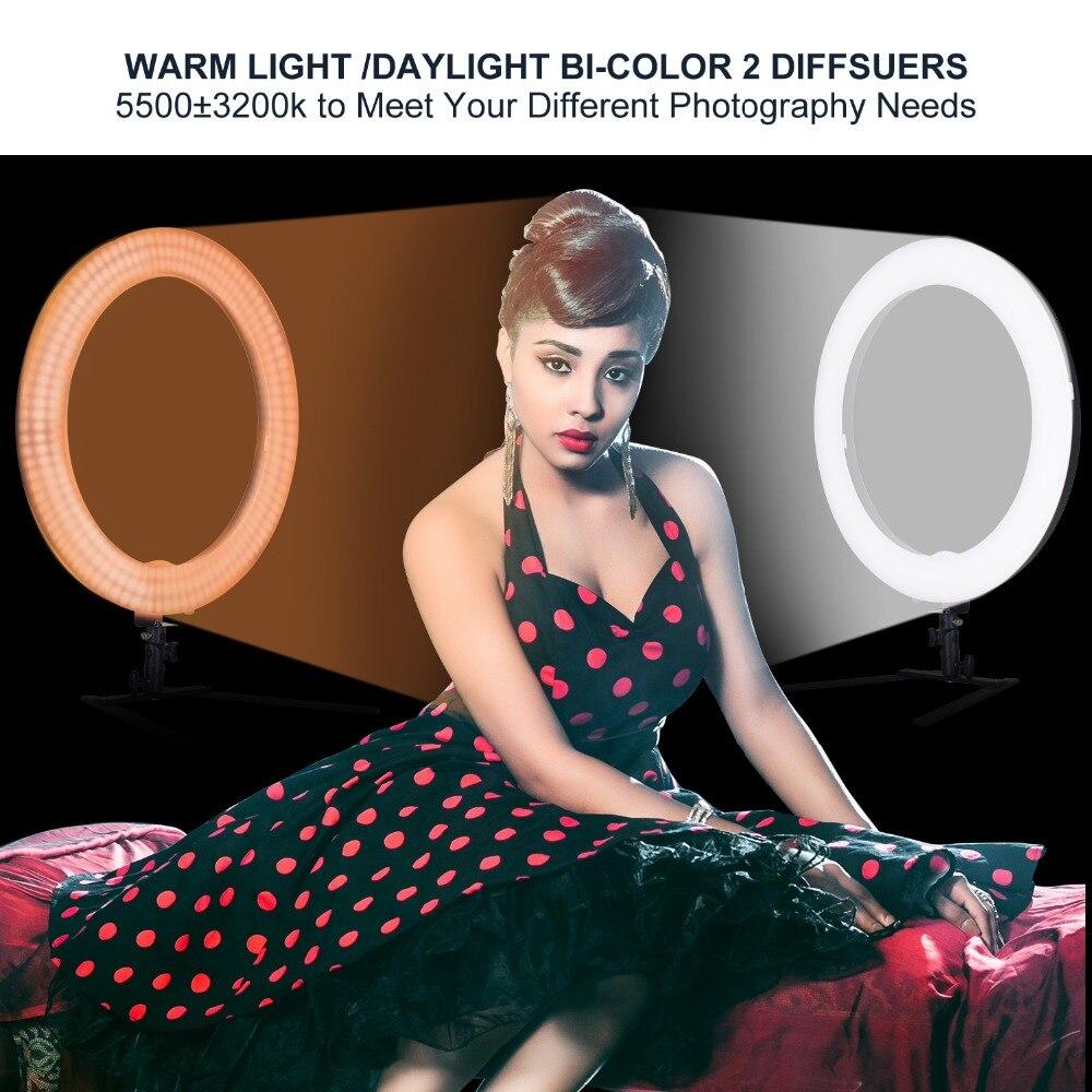 Photography LED ring light