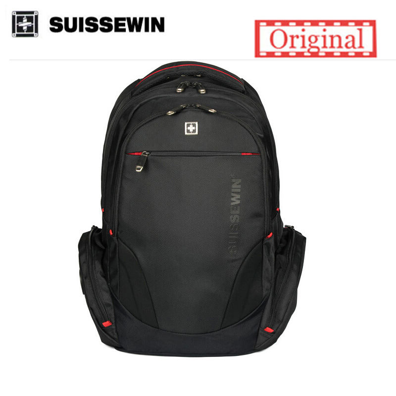 Suissewin swiss backpack male Business 16inch laptop backpacks brand Men travel backpack School students bags  Women backpack<br>